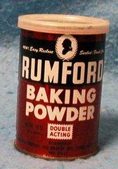 """Tin """"Rumford"""" Baking Powder B1884"""