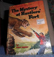 Book - The Mystery At Rustlers Fort B4806