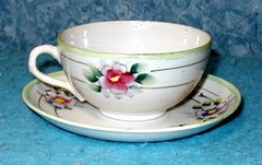 """Cup with Saucer """"Nippon"""" B2836"""