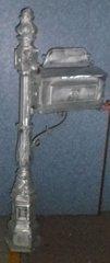 Mail Box - Rural - Silver Cast Iron DD311