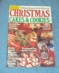 Vintage Country Kitchen Magazine 1991 Cake and Cookies B4310