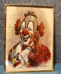 Picture - Clown B2955