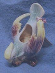 Flower Planter Ceramic Parrot B870
