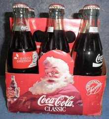 Coke 6 Pack with Soda and Box B517