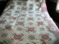 Old Pink Quilt B1781