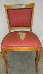 Chair  with upholstered seat and back B5521