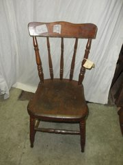 Chair - Plank Bottom B54