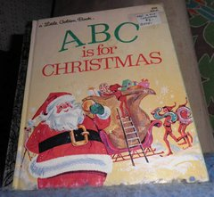 Book - ABC Is For Christmas B4781