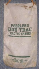 "Fabric Sack ""Peerless Tractor Chains B4874"