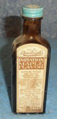Bottle Rawleigh's Imitation Maple Flavor
