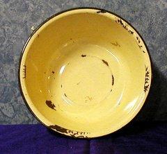 Pan, Yellow Enamel B2664