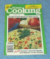 Vintage Home Cooking Magazine August 1992     B4306