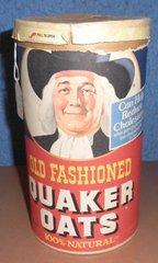 Box - Quaker Oats - With Lid B4735