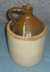 RS150 Jug Brown and White with cork