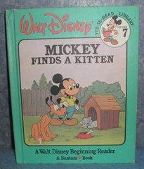 Book - Mickey Finds a Kitten B4894