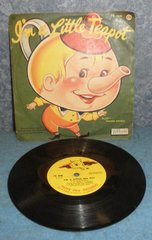 Record 78 RPM - I'm A Little Teapot B4946