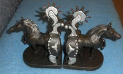 Bookends Horse and Spur Y1180