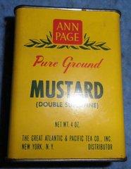 Spice Tin, Ann Page, Mustard B3894
