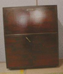 Mahogany Desk Original Finish B2590