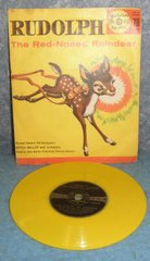 Record 78 RPM - Rudolph The Red Nosed Reindeer B4947