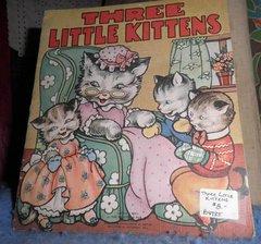 Book - Three Little Kittens B4785