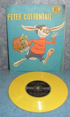 Record 78 RPM - Peter Cottontail B4970