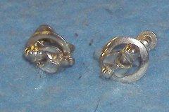 Earring - Silver - Clip - Small B3407