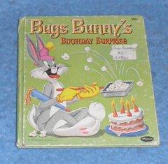 Book - Bug's Bunny's Birthday B4765