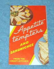 Vintage Cook Book Appetite Tempters B4280