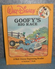 Book - Goofy's Big Race B4903