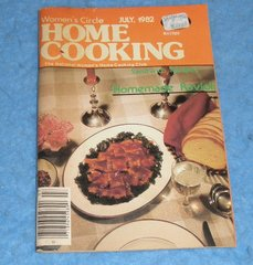 Cookbook - Women's Circle Home CookingJuly 1982  B5863