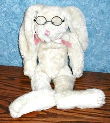 "Boyd's Collectibles, ""Bunny with Glasses B2035"
