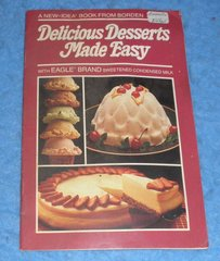 Cookbook Delicious Desserts Made Easy  B5865