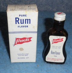 Bottle French's Butter Rum B5083