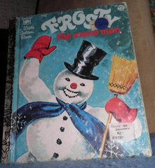 Book - Frosty The Snowman B4780