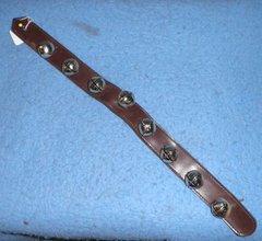 Bells on Leather Strap B4852