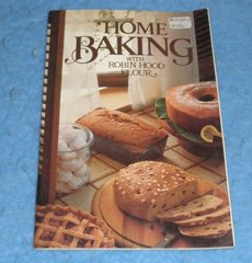 Cookbook Home Baking with Robin Hood Flour  B5841