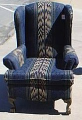 Upholstered Chair Y108
