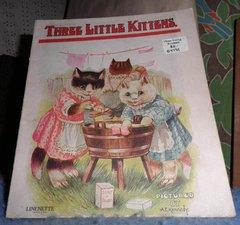 Book - Three Little Kittens B4792