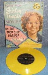 Record 78 RPM - Shirley Temple B4983