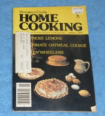 Cookbook - Women's Circle Home Cooking January 1978 B5858