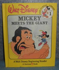 Book - Mickey Meets The Giant B4904