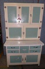 Hoosier Cabinet Painted Complete B2802