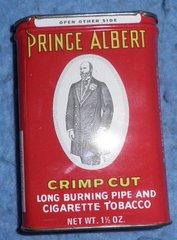 Tin, Prince Albert Tobacco B3890
