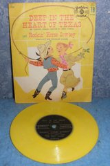 Record 78 RPM - Deep in The Heart of Texas B4980