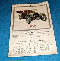 Calendar 1971--Beerman's Auto Body B1345