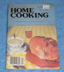 Cookbook - Women's Circle Home Cooking April 1981 B5859
