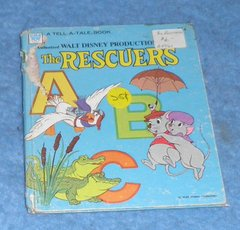 Book - The Rescuers B4761