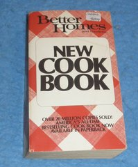 Cookbook - Better Homes and Gardens New Cook Book  B5829