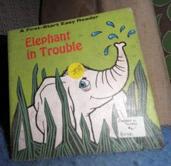 Book - Elephant In Trouble B4790
